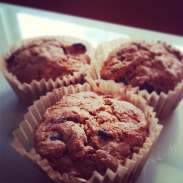 Crack muffins.